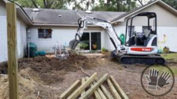 drainage french drain