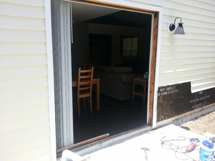 Patio Door Install