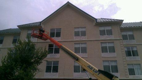 hotel pressure washing Savannah Georgia