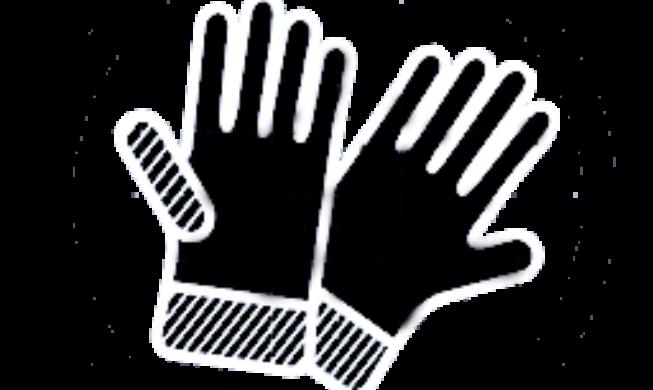 black and white pressure washing logo