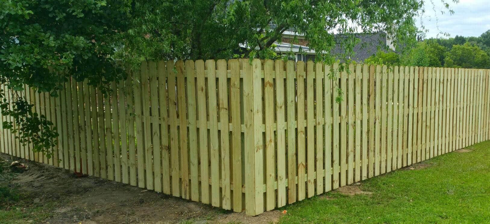 Dog Ear Fence Panels