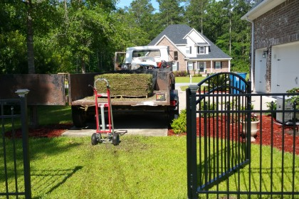 sod installation richmond hill georgia