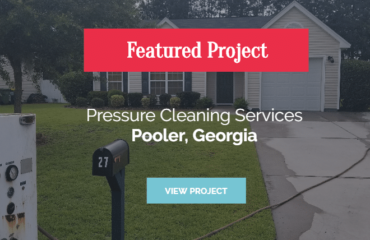 featured project pressure cleaning services pooler ga