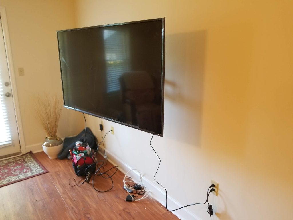 Tv Amp Wall Mount Installation Chatham Property Maintenance
